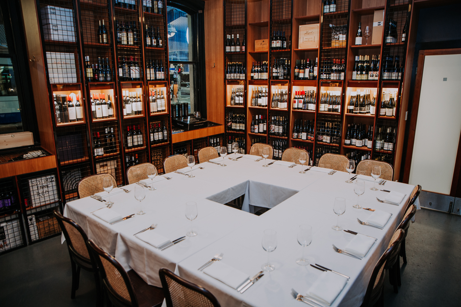 Private Dining at Port Office Hotel – The Wine Room
